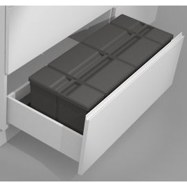 Sistema 9XL Drawer Based 58L Recycling Set : 1000mm Drawer