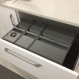 Sistema 9XL Drawer Based 38L Recycling Set : 800mm Drawer