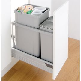 300AZ 36L Recycling Bin - 787461-85: 300mm Door