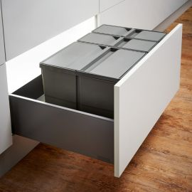 Pullboy-9XL Drawer 48L Recycling Set 802080-XL : 800mm Drawer