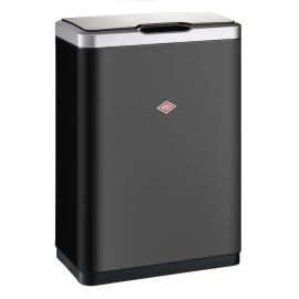 i-Master Sensor Recycling Bin 40L - Matt Black: 382411-73