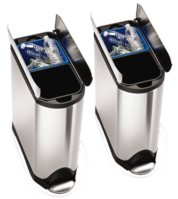 Butterfly 2-Bin Recycling Set: 80 Litres