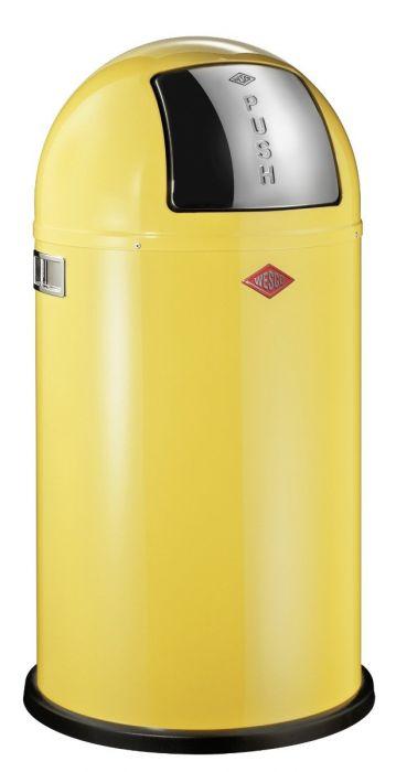 Pushboy Bin in Yellow - 50L: 175831-19