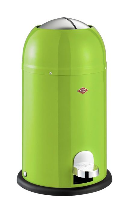 Kickmaster Junior Pedal Bin 12L Lime Green 180312-20