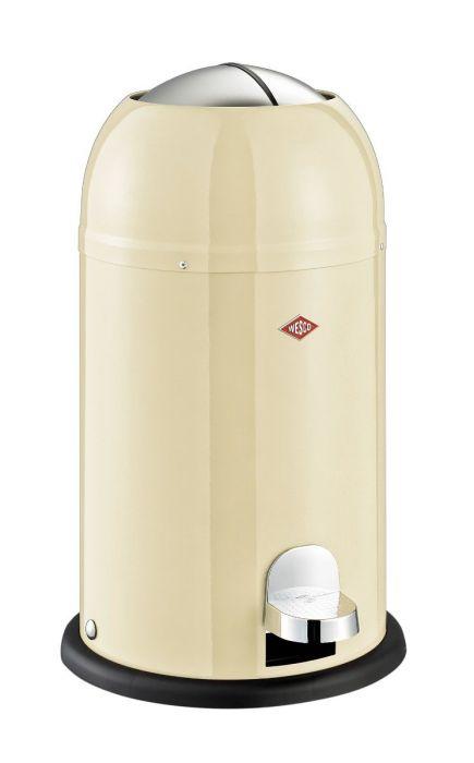 Kickmaster Junior Single Compartment Pedal Bin 12L Almond
