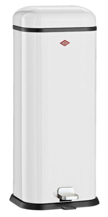 Superboy Pedal Bin 20L White 132312-01