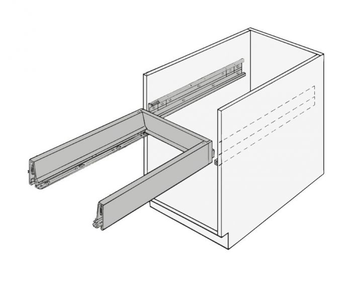 Blum Tandembox for Pullboy-Z