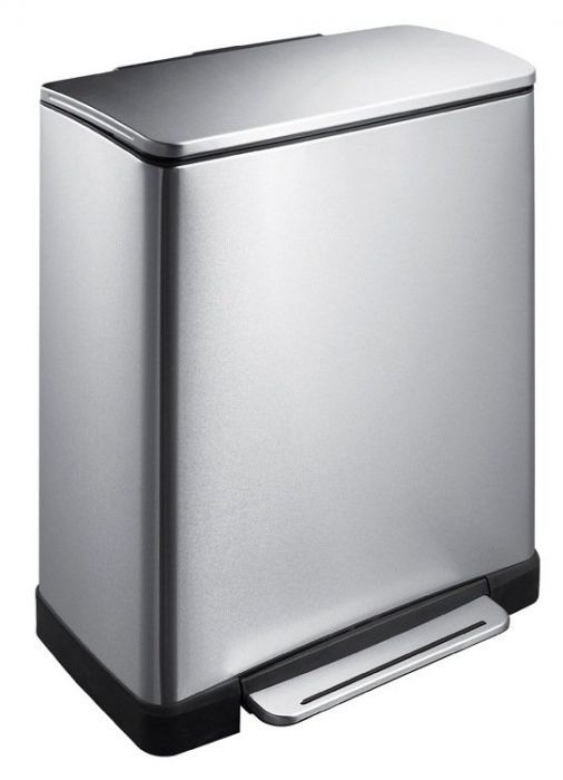 E-Cube Stainless Steel 46L Recycling Bin - VB 926846 SS