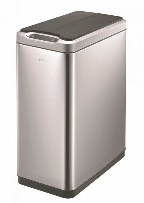 Slimline Sensor Recycling Bin 40L Stainless Steel - VB 927740