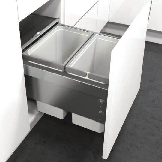 VS Envi Space Pro 42L 450-2 Silver Grey : 450mm Door
