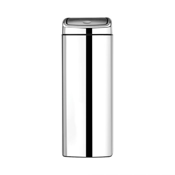 Rectangular Touch Bin 25L Stainless Steel - 384905