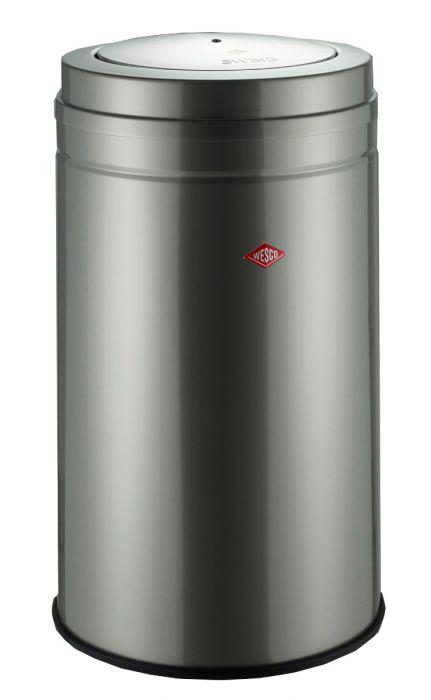 Big Swing Bin in New Silver 120L: 350931-03