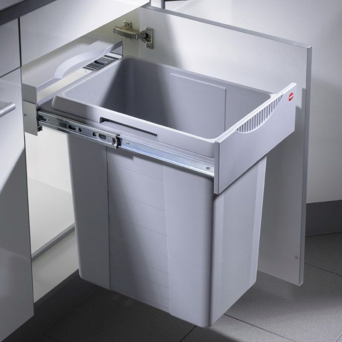 Easy Cargo 42L Waste Bin: 400mm Door