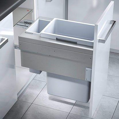 Euro Cargo 2 Compartment 45L Recycler: 400mm Door