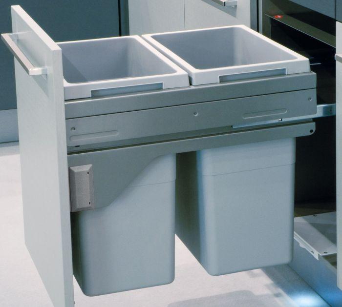 Euro Cargo 2 Compartment 76L Recycler: 500mm Door