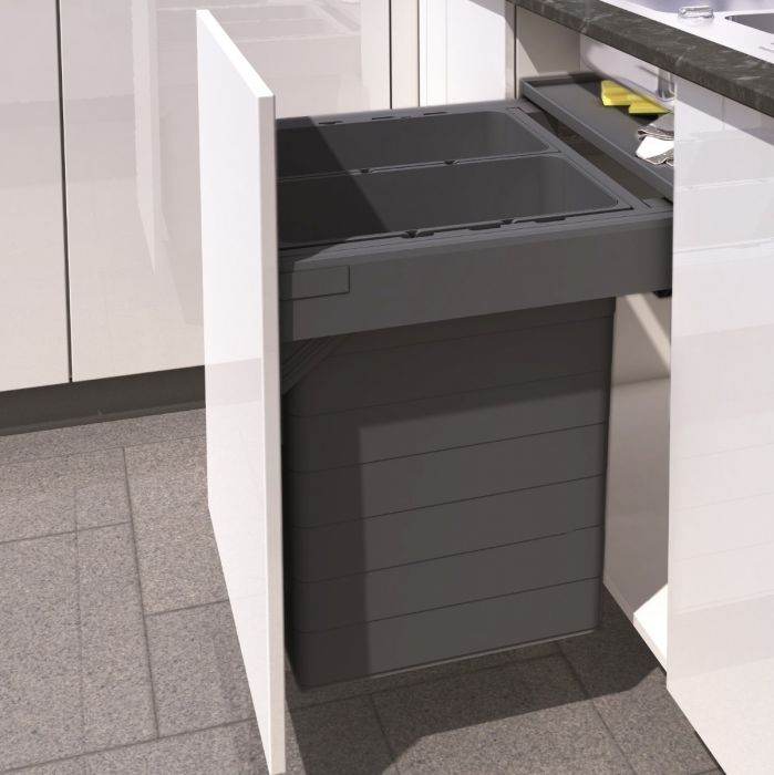 One2Five Two Compartment 84L Recycler : 600mm Door