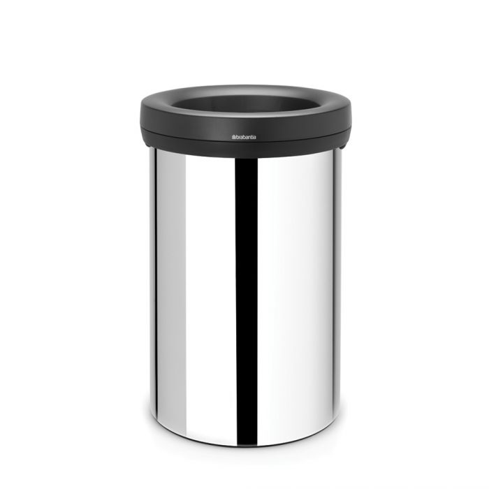 Open Bin 60 Litres - Brilliant Stainless Steel: 108785