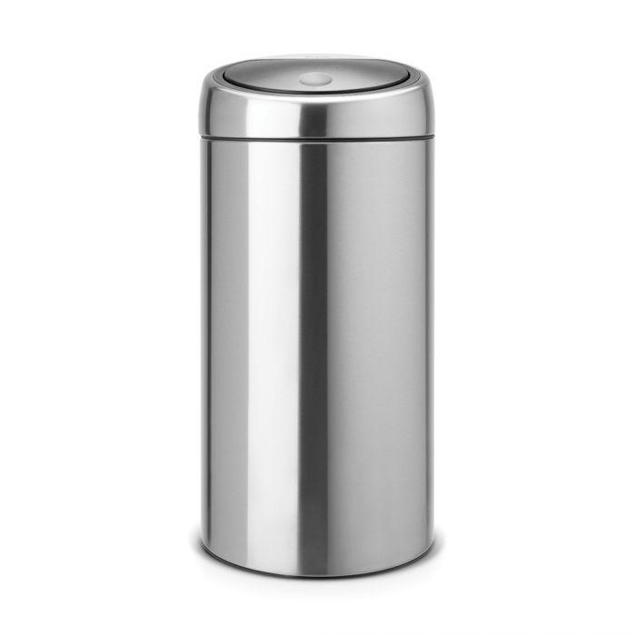 Touch Bin 45L - Matt Steel - 390845