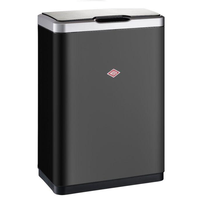 i-Master Sensor Recycling Bin 40L - Matt Black: 382411-73